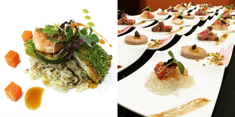 Luxe catering caterers dessert tables private chefs for Canape catering singapore